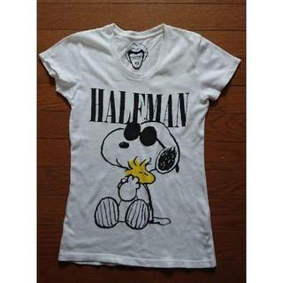 ハーフマン(HALFMAN)の24  HALFMANレディーススヌーピーTシャツ(Tシャツ(半袖/袖なし))