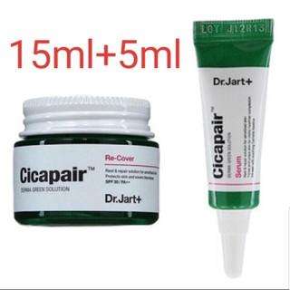 ドクタージャルト(Dr. Jart+)のドクタージャルト シカペア リカバークリーム 15ml+5ml (フェイスクリーム)