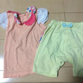 シマムラ(しまむら)の夏服 セットアップ 90センチ(Tシャツ/カットソー)