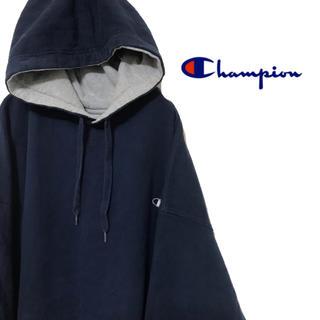d489808ebd7a0d チャンピオン(Champion)のChampion チャンピオン パーカー スウェット ワンポイント ロゴ刺繍(パーカー)