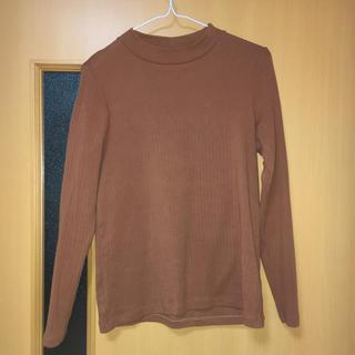 ユニクロ(UNIQLO)のユニクロ/リブハイネックT(長袖)(Tシャツ(長袖/七分))