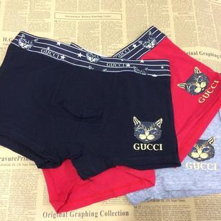 グッチ(Gucci)のGUCCI ボクサーパンツ 3SET Cat(ボクサーパンツ)