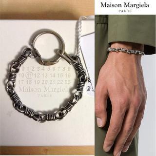 マルタンマルジェラ(Maison Martin Margiela)の新品■S■マルジェラ 18ss■シルバーチェーンブレスレット■5693(ブレスレット)