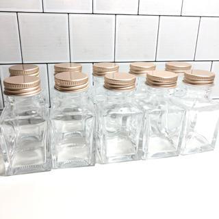 ハーバリウム 瓶 ボトル 10本セット(ドライフラワー)
