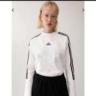 アディダス(adidas)のadidas moussy コラボ カットソー(Tシャツ/カットソー(七分/長袖))
