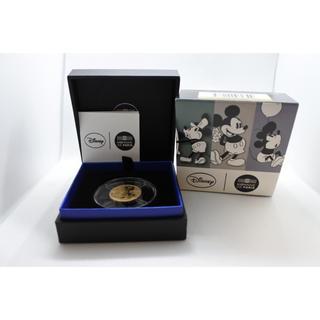 ディズニー(Disney)の2016年 ユーロ/euro ディズニーミッキマウス 1/4oz 金貨(貨幣)