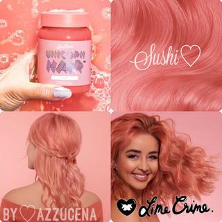 ライムクライム(Lime Crime)のNew Limecrime Unicorn Hair Sushi 🧡(カラーリング剤)