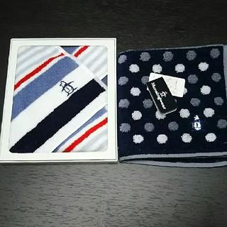 マンシングウェア(Munsingwear)のメンズ 紳士 タオル ハンカチ 新品 Munsingwear(ハンカチ/ポケットチーフ)
