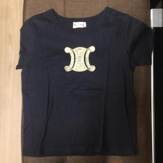 セリーヌ(celine)のセリーヌ  Tシャツ  紺色 ネイビー(Tシャツ/カットソー)