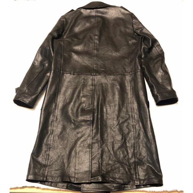 Saint Laurent(サンローラン)のサンローラン レザーコート メンズのジャケット/アウター(ステンカラーコート)の商品写真