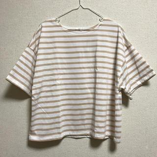シマムラ(しまむら)のボーダー Tシャツ(Tシャツ(半袖/袖なし))