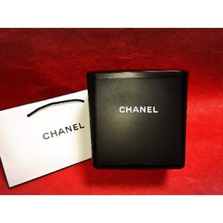 シャネル(CHANEL)のダストボックス●ゴミ箱おしゃれ●CHANEL黒(ごみ箱)