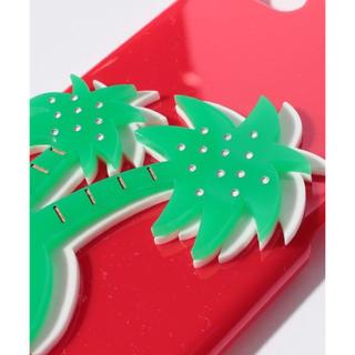 スリーフォータイム(ThreeFourTime)の新品♡定価4212円 iPhone6、6S ケース ヤシの木 大幅お値下げ‼️(iPhoneケース)