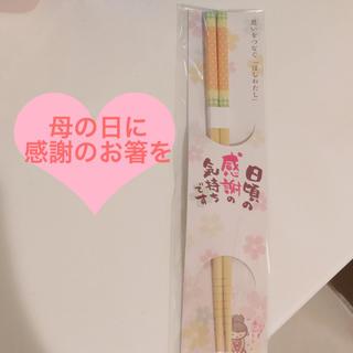 【新品未使用】プレゼント用 お箸(カトラリー/箸)