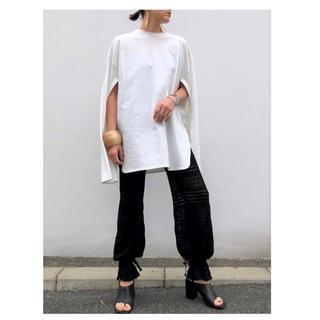 アパルトモンドゥーズィエムクラス(L'Appartement DEUXIEME CLASSE)のmediam Sleeve Open Long Tee (Tシャツ/カットソー(七分/長袖))