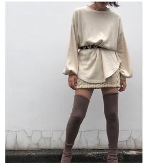 アパルトモンドゥーズィエムクラス(L'Appartement DEUXIEME CLASSE)のmediam Sleeve Long Tee - WHITE(Tシャツ/カットソー(七分/長袖))