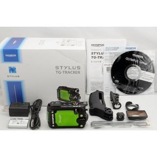 オリンパス(OLYMPUS)の4K&WiFi&極美品★OLYMPUS STYLUS TG-TRACKER(コンパクトデジタルカメラ)
