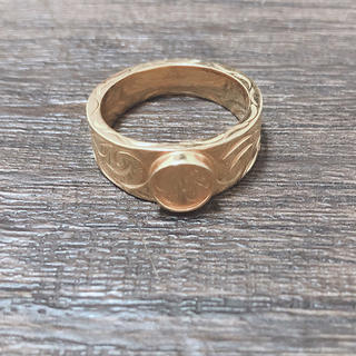 ハワイアンジュエリー24金コーティング(リング(指輪))