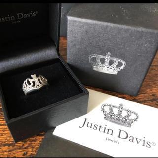 ジャスティンデイビス(Justin Davis)のジャスティンデイビスJustin Davis*Majestyシルバーダイヤリング(リング(指輪))