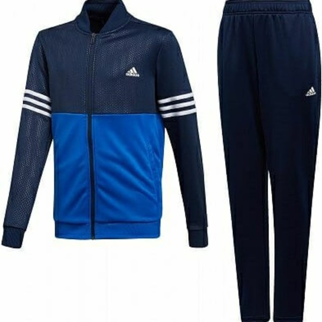 d200ac4726e0d6 adidas(アディダス)のadidas アディダス ジャージ上下 セットアップ 140 ネイビー ブルー キッズ/ベビー