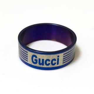 同時購入で350円 ステンレス指輪グッチ(リング(指輪))