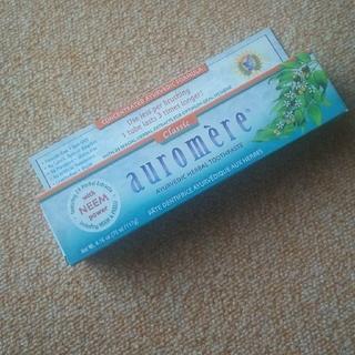 オーロメア(auromere)のAuromere オーロメア  歯磨き粉(歯磨き粉)