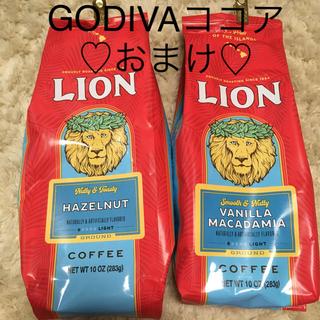 ライオン(LION)のライオン フレーバー コーヒー 2点(コーヒー)