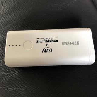 バッファロー(Buffalo)のモバイルバッテリー(バッテリー/充電器)