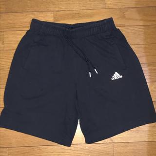 アディダス(adidas)のadidas アディダス ハーフパンツ ブラック サイズL(ショートパンツ)