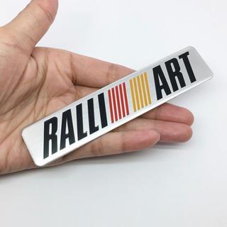 ミツビシ(三菱)の【新品】MITSUBISHI RALLIARTロゴ 3Dエンブレムステッカー(車外アクセサリ)