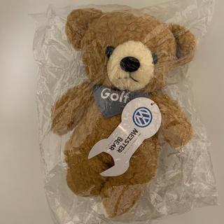 フォルクスワーゲン(Volkswagen)の【新品未使用】フォルクスワーゲンふかふかベアぬいぐるみ(ぬいぐるみ/人形)