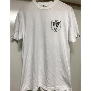 アルファ(alpha)のALPHA アルファ 半袖Tシャツ トップス ホワイト カーキ Mサイズ (Tシャツ/カットソー(半袖/袖なし))