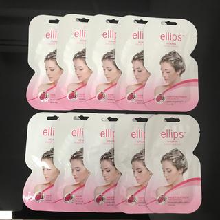 エリップス(ellips)のEllips HAIR MASK ピンク 10個セット(ヘアパック/ヘアマスク)