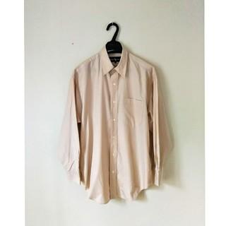 ラルフローレン(Ralph Lauren)のラルフローレン  ベージュの綿シャツ(Tシャツ/カットソー(七分/長袖))