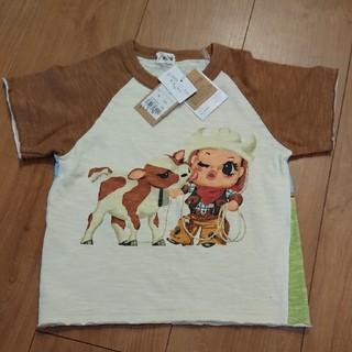 ターカーミニ(t/mini)のターカーミニ 新品未使用タグ付き キッズ100(Tシャツ/カットソー)