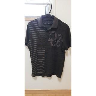 デシグアル(DESIGUAL)のデシグアル Desigual ポロシャツ 黒 ブラック L (Mぐらい)(ポロシャツ)