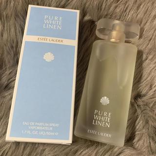 エスティローダー(Estee Lauder)のエスティーローダー香水 ピュアホワイトリネン(香水(女性用))