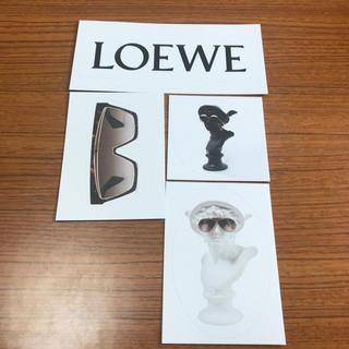 ロエベ(LOEWE)のロエベ ステッカー 4点セット(しおり/ステッカー)