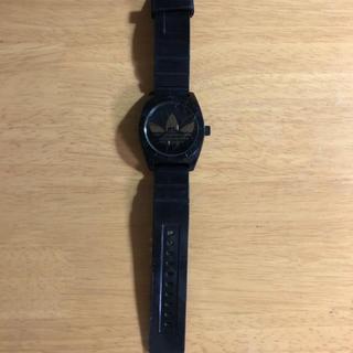 アディダス(adidas)のadidas アディダス 腕時計 ブラック ゴールド(腕時計)