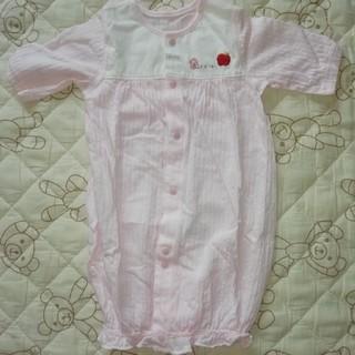6ec071b1f9e34 アイジョウセッケイ(愛情設計)のキムラタン 愛情設計 カバーオール 未使用 新生児 女の子