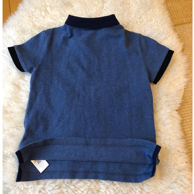BURBERRY(バーバリー)の約1.6万美品本物バーバリー上質コットン半袖ポロシャツ♫お買い得品 キッズ/ベビー/マタニティのキッズ服 男の子用(90cm~)(その他)の商品写真