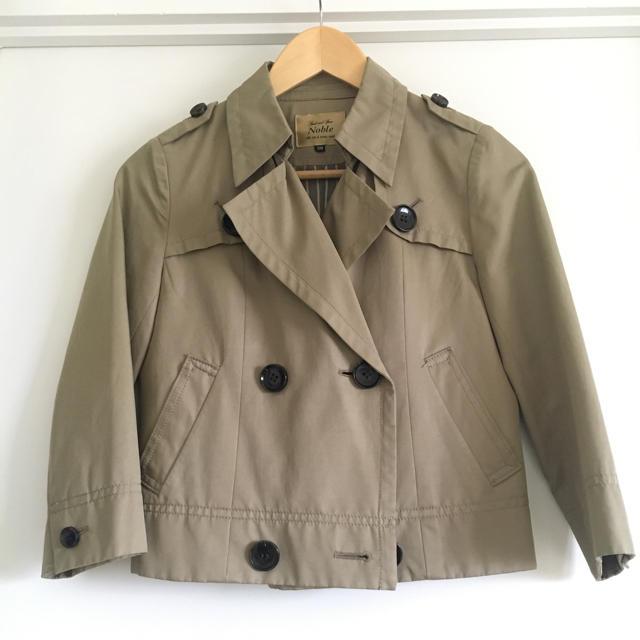 Noble(ノーブル)のスピックアンドスパン ノーブル ショートトレンチ レディースのジャケット/アウター(トレンチコート)の商品写真
