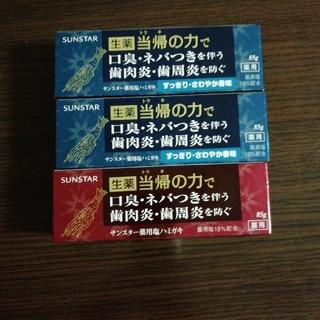 SUNSTAR - サンスター 薬用塩ハミガキ 3本セット