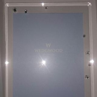 ウェッジウッド(WEDGWOOD)のウェッジウッド☆フォトフレーム☆新品未使用(フォトフレーム)