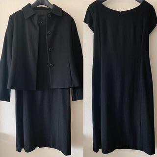 エフデ(ef-de)の冠婚葬祭にも☆en queteワンピ&ジャケット(スーツ)