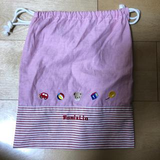 ファミリア(familiar)のファミリア 巾着(ランチボックス巾着)
