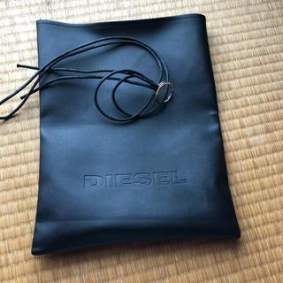 ディーゼル(DIESEL)のディーゼルDISELショッパー袋と紐セット[超美品](ショップ袋)