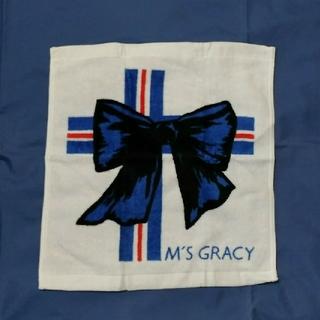 エムズグレイシー(M'S GRACY)のエムズグレイシー M'S GRACY ハンドタオル ノベルティ(ノベルティグッズ)