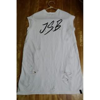 サンダイメジェイソウルブラザーズ(三代目 J Soul Brothers)の三代目JSB Tシャツワンピ(Tシャツ(半袖/袖なし))