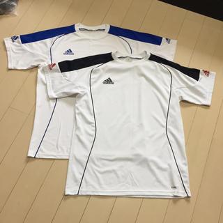アディダス(adidas)のメンズトレーニングシャツ2枚組(Tシャツ/カットソー(半袖/袖なし))